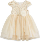 Bonnie Baby Baby Girls' Lace & Tulle Dress