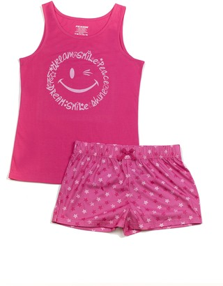 Joe Boxer Big Girl's Stars PJ Set Sleepwear