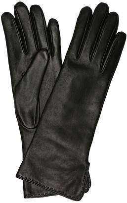Loro Piana Max's leather gloves
