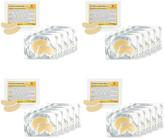 Martinni Beauty 4Pk 20 Piece 24K Gold Eye Luminous Mask Set