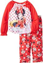 Disney Little Girls' Minnie Mouse Dots Sleep Set