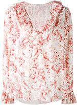 Vilshenko floral detail shirt - women - Silk - 6