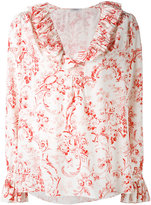 Vilshenko floral detail shirt