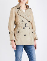 Burberry Ombersley shell trench coat
