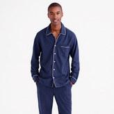 J.Crew Heathered flannel pajama set