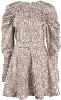 Rotate by Birger Christensen Number 26 belted dress