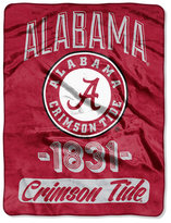 Northwest Company Alabama Crimson Tide Micro Raschel Varsity Blanket