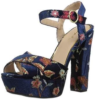 Qupid Women's BEAT-83 Heeled Sandal