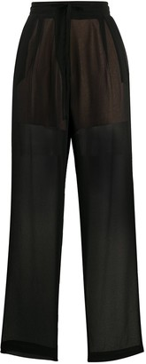 Alysi Elasticated Sheer Trousers