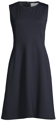 HUGO BOSS Dandrow Spongy Jersey A-Line Dress