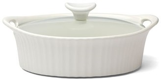 Corningware French White 1.4L Oval Casserole
