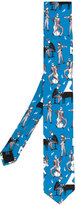 Dolce & Gabbana Jazz Club print tie - men - Silk - One Size