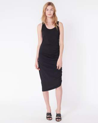 Veronica Beard Decker Ruched Midi Dress