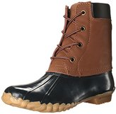 Western Chief Women's Four Eye Duck Boot, Midnight, 11 M US