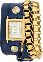 La Mer Women's LMSCW7007 Gold Egyptian Chain Wrap Watch