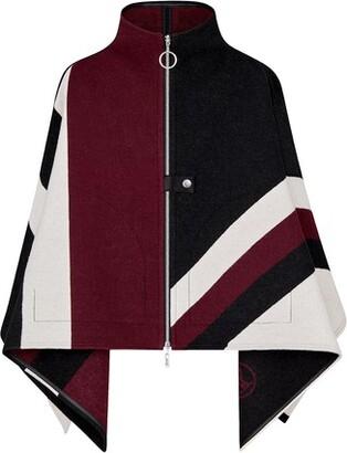 Louis Vuitton Graphic Jacquard Zipped Cape
