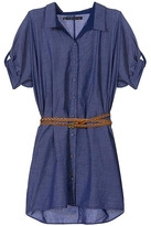 Patterson J. Kincaid Fern Belted Dress