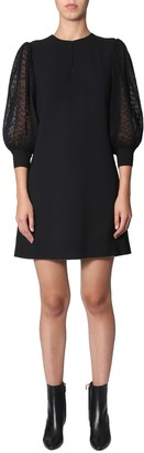 Givenchy Dress With Pleated Sleeves