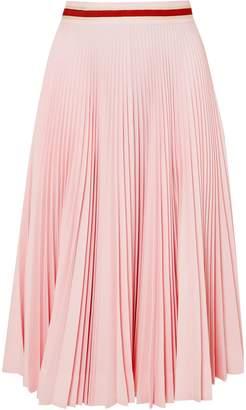 Calvin Klein Pleated Twill Skirt