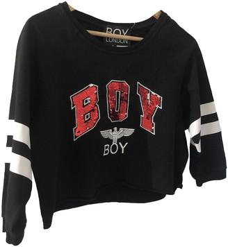 Boy London Black Cotton Top for Women