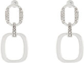 Accessorize Bling Chain Link Short Drop Earrings