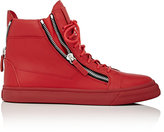 Giuseppe Zanotti Men's Double-Zip Sneakers-RED