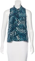 Equipment Silk Sleeveless Top