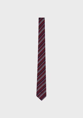 Giorgio Armani Regimental Silk Tie
