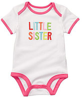"Carter's Carter ́s Newborn ""Little Sister"" Bodysuit"