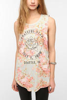 Urban Outfitters Grateful Dead Floral Muscle Tee