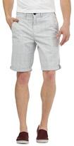 Red Herring Grey Window Pane Print Shorts