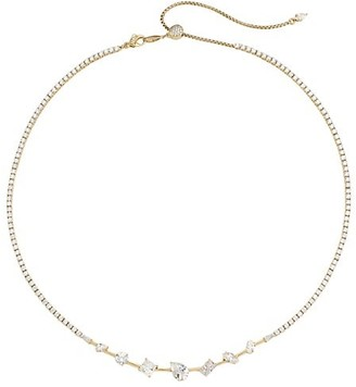 Adriana Orsini Tivoli 18K Yellow Goldplated Sterling Silver & Cubic Zirconia All Around Necklace