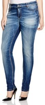 Marina Rinaldi Plus Igloo Slim Fit Jeans in Sky Blue