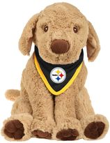 Forever Collectibles Pittsburgh Steelers Plush Dog with Bandana