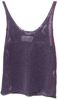 By Malene Birger Black Cotton Top for Women