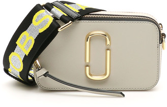 MARC JACOBS, THE MARC JACOBS (THE) THE SNAPSHOT SMALL CAMERA BAG OS Pink, Grey, White Leather