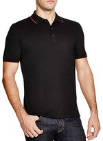 HUGO Delorian Tipped Slim Fit Polo Shirt
