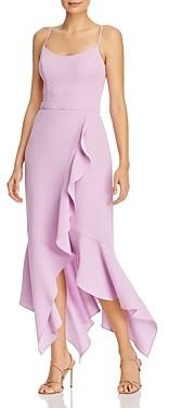 Aqua Ruffled Midi Dress - 100% Exclusive