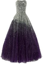 Uryouthstyle Strapless Prom Gowns A-line Long Sparkly Evening Dresses HJ0027PP-US