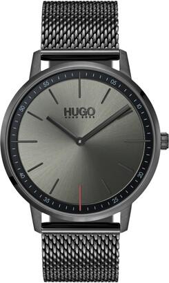 HUGO BOSS Exist Mesh Strap Watch, 40mm