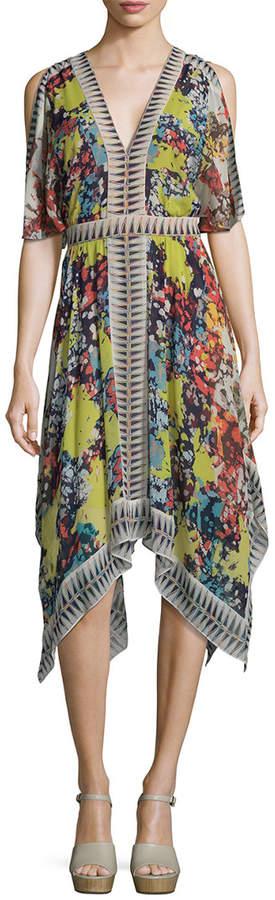 BCBGMAXAZRIA Cocktail Silk Dress