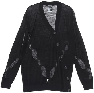 Ann Demeulemeester Distressed Cardigan