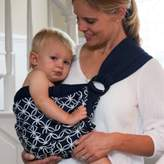 Balboa Baby Dr. Sears Original Adjustable Baby Sling in Navy/White Circle
