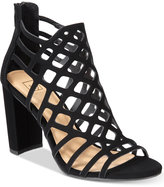 Material Girl Cadence Caged Sandals, Only at Macy's