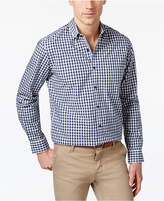 Club Room Men's Cotton Gingham Shirt, Created for Macy's