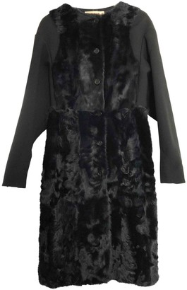 Marni Black Shearling Coat for Women