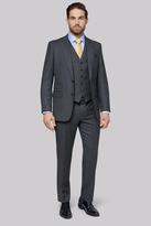 Savoy Taylors Guild Regular Fit Charcoal Birdseye Jacket