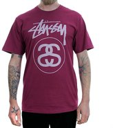 Stussy Mens Stock Link T-Shirt