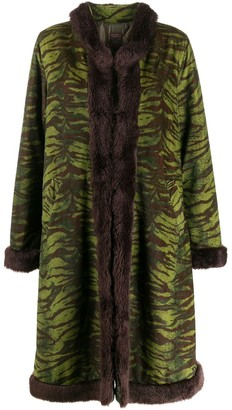 Jean Paul Gaultier Pre Owned 90's Zebra Coat