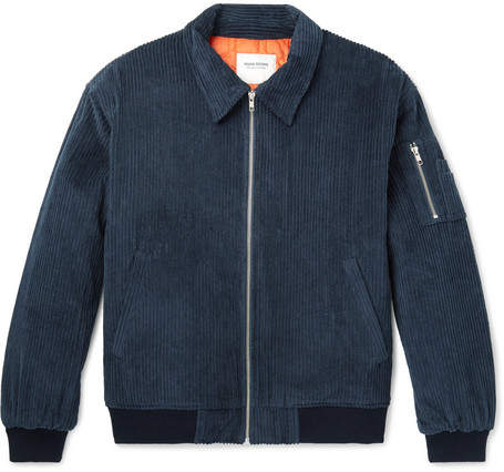 Noon Goons Rudeboy Oversized Cotton-Corduroy Bomber Jacket